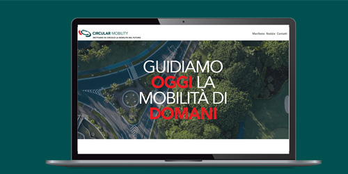 homepage sito Circular Mobility