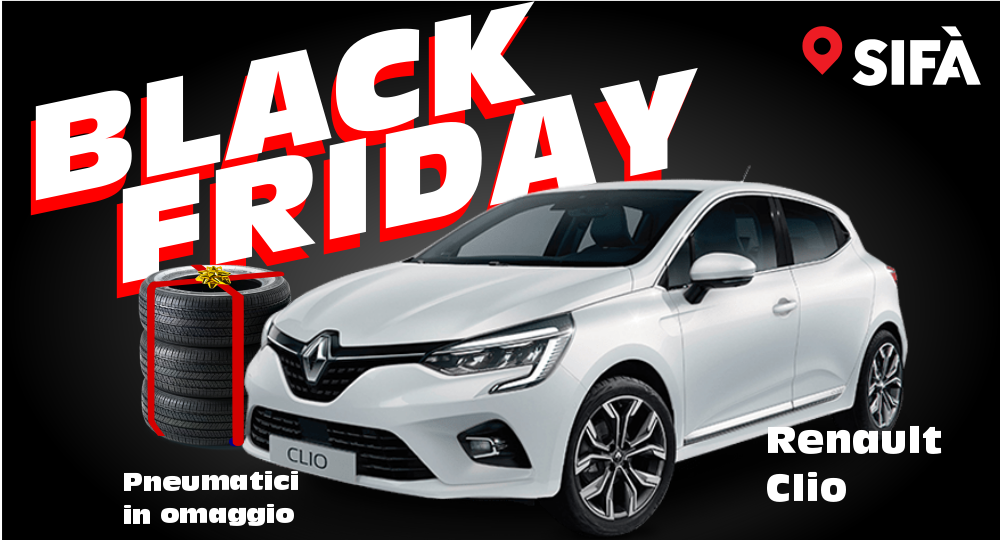 Renault clio Black Friday