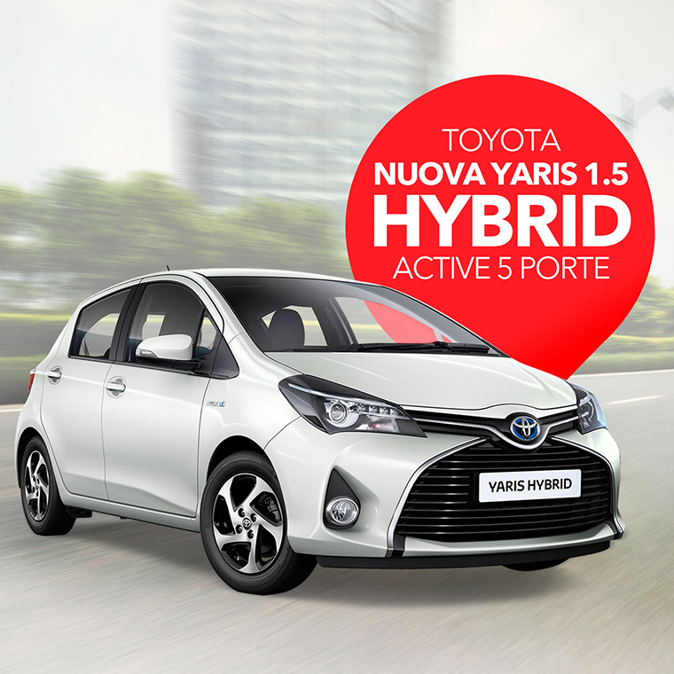 Sifà Visual Yaris ibrida TESTATA