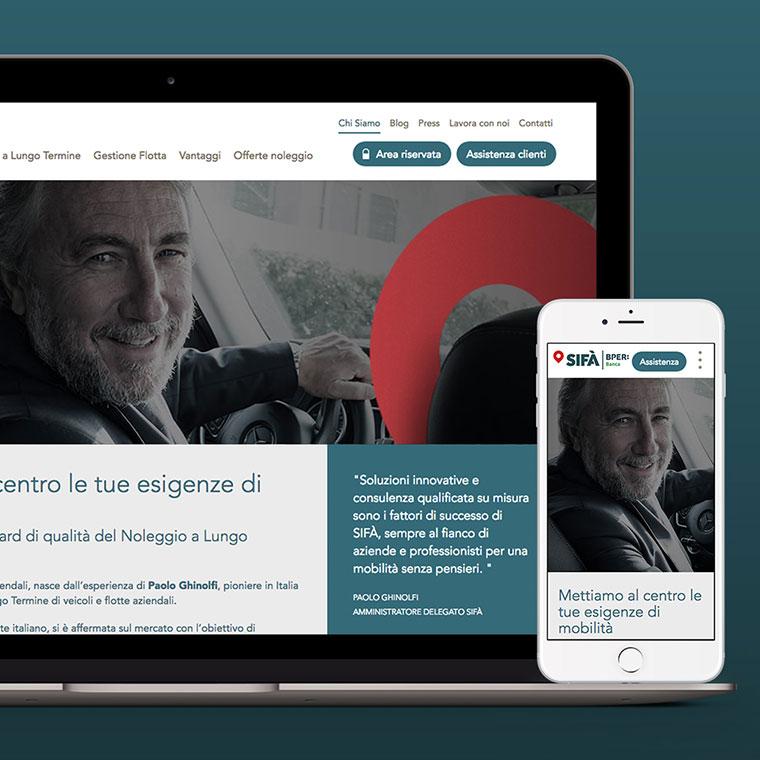 Online il nuovo sito sif for Sito mobili online
