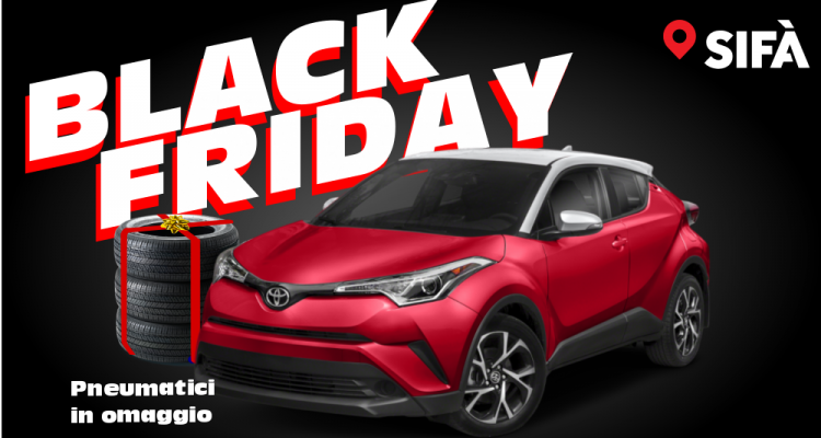 Toyota C-HR Black Friday